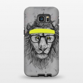 Hipster Lion Galaxy S7 EDGE cases