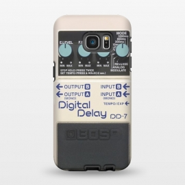 Galaxy S7 EDGE  CASE DIGITAL DELAY by Diego Tirigall ()