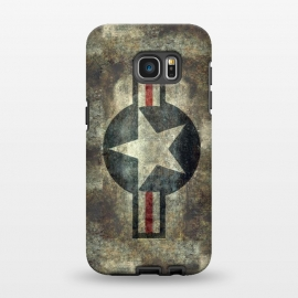 Galaxy S7 EDGE  Airforce Roundel Retro by Bruce Stanfield