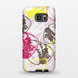 Galaxy S7 EDGE  Organic Retro Leaves by Rachael Taylor ()