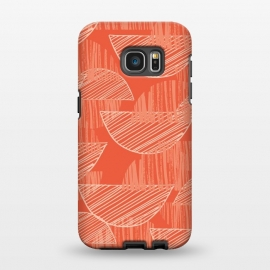 Galaxy S7 EDGE  Orange Arcs by Rachael Taylor ()
