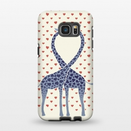 Galaxy S7 EDGE  Giraffes in Love a Valentine's Day illustration by Micklyn Le Feuvre ()