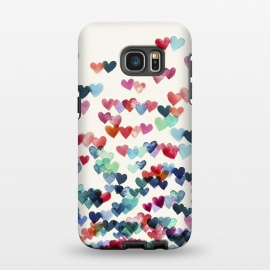 Galaxy S7 EDGE  Heart Connections a watercolor painting by Micklyn Le Feuvre ()