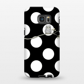 Galaxy S7 EDGE  Out on a Limb Polka Dot Owl Moon by Micklyn Le Feuvre ()