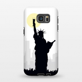 Galaxy S7 EDGE  Drunk Liberty by Sebastian Parra