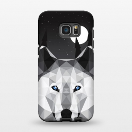 Galaxy S7 EDGE  The Tundra Wolf by Davies Babies