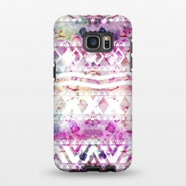 Galaxy S7 EDGE  Nebula Flowers Floral by Girly Trend ()