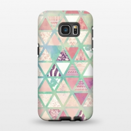 Galaxy S7 EDGE  Triangles sc by Girly Trend