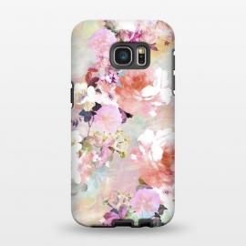 Galaxy S7 EDGE  Watercolor Flowers by Girly Trend