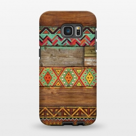 Galaxy S7 EDGE  INDIAN WOOD by Diego Tirigall ()