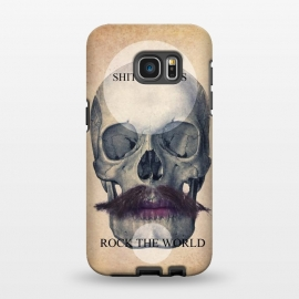 Galaxy S7 EDGE  SKULL ROCK THE WORLD OK by Diego Tirigall ()