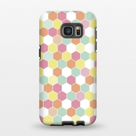 Galaxy S7 EDGE  Geo Hex by Alice Perry Designs