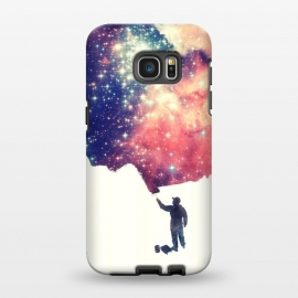 Galaxy S7 EDGE  Painting The Universe by Philipp Rietz