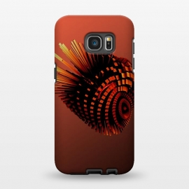 Galaxy S7 EDGE  Your Bronze Cyborg Heart by Adoryanti