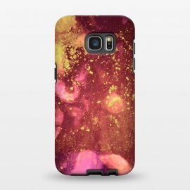 Galaxy S7 EDGE  Gilded Flakes by Ashley Camille