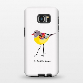 Galaxy S7 EDGE  Gray Wagtail by Stefania Pochesci (bird,yellow,greywagtail,cute)