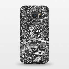 Galaxy S7 EDGE  B&W Hand made by Eleaxart ()