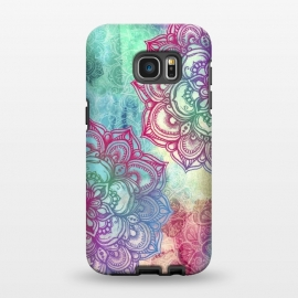 Galaxy S7 EDGE  Round and Round the Rainbow by Micklyn Le Feuvre ()