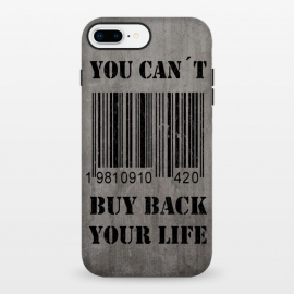 iPhone 8/7 plus  You can´t buy back your life by Nicklas Gustafsson ()