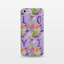 iPhone 5/5E/5s  Spring Love by Kimrhi Studios (LOVE,spring,floral,flowers)