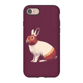 iPhone 8/7  Rabbit Wrestler SQUARE by Florent Bodart ()