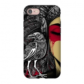 iPhone 8/7  Winya 33 by Winya (animals nature,horror,women,indian,skull,skeleton,bone,cruel,amazon,eye,tattoo,culture,blood,revenge,girl,sexy,pinup,savage,kill,avengers,art line,nice,beautiful,chicano,neo traditional,tattoo style,wonderfull,line work,black white,biker,rocker,modern,indy,teen,day of the dead,animal,crow,bird,raven)