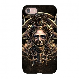 iPhone 8/7  Winya 35 by Winya (horror,skull,crests,magic,sorcerous,witching,wizard,ghost,death,voodoo,black magic,women,skeleton,eyes,symbol,sign,dead,metal,rock,egypt,bone,fang,canine,feather,amulets,charm,exorcist,evil,devil,mayan,wtf,tattoo,art line,nice,beautiful,great,awesome,black white,pharaoh,queen,fantasy,fighter,soldier)