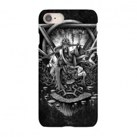 iPhone 8/7  Winya 36 by Winya (shamans,horror,spiritual,occult,culture,women,blood,skeleton,bone,cruel,girl,sexy,pinup,savage,kill,space,art line,nice,galaxy,cosmic,nature,enterprise,spock,awesome,amazing,wonderfull,popular,baroque,line work,black white,sacred geometry,biker,rocker,death metal,dead,psychopomp,geometry,modern,sacr)