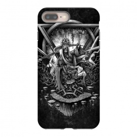 iPhone 8/7 plus  Winya 36 by Winya (shamans,horror,spiritual,occult,culture,women,blood,skeleton,bone,cruel,girl,sexy,pinup,savage,kill,space,art line,nice,galaxy,cosmic,nature,enterprise,spock,awesome,amazing,wonderfull,popular,baroque,line work,black white,sacred geometry,biker,rocker,death metal,dead,psychopomp,geometry,modern,sacr)