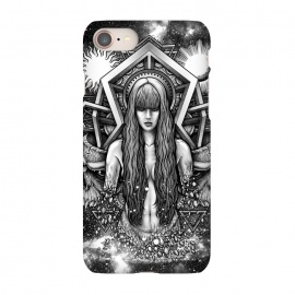iPhone 8/7  Winya 41 by Winya (cute,horror,tv pop culture,women,blood,skeleton,bone,cruel,girl,sexy,pinup,reborn,hipster,space,art line,nice,galaxy,cosmic,nature,earth,andromeda,popular,baroque,line work,pretty,sacred geometry,biker,rocker,death metal,dead,fun,geometry,modern,sacred,nude,day of the dead,skull,demon,goddess,fairy,)