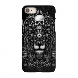 iPhone 8/7  Winya 44 by Winya (lion,king,animal,leo,forest,guardian,big tiger,spirit,lion hearted,god,lion face,popular,best seller,awesome,death,dead,line work,baroque,art line,tattoo design,tattoo,skull,horror,pop culture,nature,dark,great,epic,halloween,indian,bone,canine,feather,amulets,charm,arrow,tongue,shaman,sorcerer,ghos)