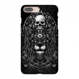 iPhone 8/7 plus  Winya 44 by Winya (lion,king,animal,leo,forest,guardian,big tiger,spirit,lion hearted,god,lion face,popular,best seller,awesome,death,dead,line work,baroque,art line,tattoo design,tattoo,skull,horror,pop culture,nature,dark,great,epic,halloween,indian,bone,canine,feather,amulets,charm,arrow,tongue,shaman,sorcerer,ghos)