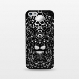 iPhone 5/5E/5s  Winya 44 by Winya (lion,king,animal,leo,forest,guardian,big tiger,spirit,lion hearted,god,lion face,popular,best seller,awesome,death,dead,line work,baroque,art line,tattoo design,tattoo,skull,horror,pop culture,nature,dark,great,epic,halloween,indian,bone,canine,feather,amulets,charm,arrow,tongue,shaman,sorcerer,ghos)