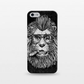 iPhone 5/5E/5s  Winya 47 by Winya (comics,pop culture,scar,scary,sci fi,cartoon,impressive,terrific,popular,best seller,modern art,awesome,fantastic,nice,geek,artsy,beautiful,nature,black white,dog,line work,art line,baroque,tattoo,wtf,horror,dark,lion,king,animal,leo,forest,guardian,big tiger,spirit,lion hearted,god,lion face)