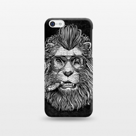 iPhone 5C  Winya 47 by Winya (comics,pop culture,scar,scary,sci fi,cartoon,impressive,terrific,popular,best seller,modern art,awesome,fantastic,nice,geek,artsy,beautiful,nature,black white,dog,line work,art line,baroque,tattoo,wtf,horror,dark,lion,king,animal,leo,forest,guardian,big tiger,spirit,lion hearted,god,lion face)