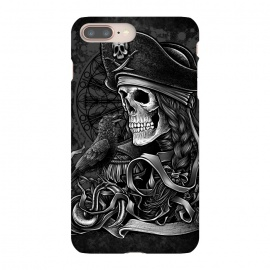 iPhone 8/7 plus  Winya 52 by Winya (pirate,sea rover,buccaneer,mandala,skull,demon,halloween,sea,ship,horror,culture,blood,beautiful,sacred geometry,sacred,skeleton,bone,geometry,biker,rocker,metal,dead,fun,modern,indy,day of the dead,animal,tattoo,crow,bird,raven,flag,hell,night,dark,fantasy,goddess,fairy tale,fairy,myth,hook,captain)