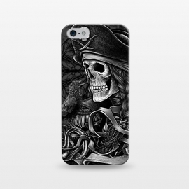 iPhone 5/5E/5s  Winya 52 by Winya (pirate,sea rover,buccaneer,mandala,skull,demon,halloween,sea,ship,horror,culture,blood,beautiful,sacred geometry,sacred,skeleton,bone,geometry,biker,rocker,metal,dead,fun,modern,indy,day of the dead,animal,tattoo,crow,bird,raven,flag,hell,night,dark,fantasy,goddess,fairy tale,fairy,myth,hook,captain)