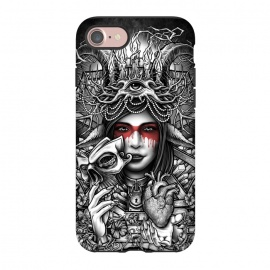 iPhone 8/7  Winya 55 by Winya (women,nature,horror,cruel,eye,tattoo,culture,art line,chicano,neo traditional,tattoo style,line work,indy,teen,hell,halloween,antler,horn,mind,heart,spirit,mentality,psych,tribal,demon,goddess,fairy,angel,fay,goat,satan,666,sick,blood,popular,baroque,sacred geometry,paradise,fantasy,mystical,dark,gr)