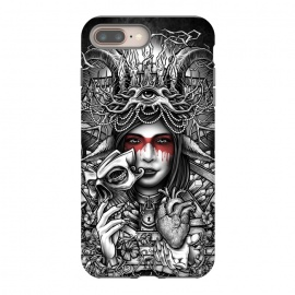iPhone 8/7 plus  Winya 55 by Winya (women,nature,horror,cruel,eye,tattoo,culture,art line,chicano,neo traditional,tattoo style,line work,indy,teen,hell,halloween,antler,horn,mind,heart,spirit,mentality,psych,tribal,demon,goddess,fairy,angel,fay,goat,satan,666,sick,blood,popular,baroque,sacred geometry,paradise,fantasy,mystical,dark,gr)
