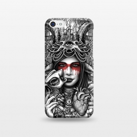iPhone 5C  Winya 55 by Winya (women,nature,horror,cruel,eye,tattoo,culture,art line,chicano,neo traditional,tattoo style,line work,indy,teen,hell,halloween,antler,horn,mind,heart,spirit,mentality,psych,tribal,demon,goddess,fairy,angel,fay,goat,satan,666,sick,blood,popular,baroque,sacred geometry,paradise,fantasy,mystical,dark,gr)