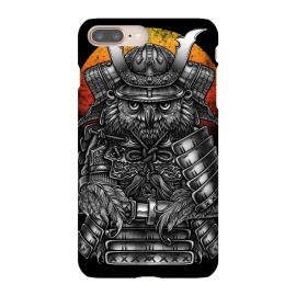 iPhone 8/7 plus  Winya 63 by Winya (ronin,martial,katana,bushido,tattoo art,bird,owl,samurai,war,dark,art line,horror,animal,line work,spaulder,fighter,warrior,japan,suit of armor,hip ster,fantasy,monster,spirit,pop culture,surrealism,protective mask workwear,face guard sport,mask disguise,emperor,japanese culture,sword,ancient,cultur)