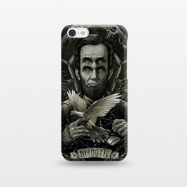 iPhone 5C  Winya 68 by Winya (hypnotic,abraham lincoln,abraham,geometric,lincoln,dove,usa,key,barb,barb wire,casket,graves,hypnotic eye,4 eyes,dark,mysterious,occult,hidden,ulterior,secret,marvellous,marvelous,wonderful,halloween,wondrous,amazing,hypnotize,magnetize,mesmerize,spirit,soul,psych,wraith,mind,bird,man,inking,scary,d)