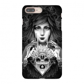 iPhone 8/7 plus  Winya 76 by Winya (mandala,sacred geometry,pattern,triangle,poly,hipster,sacred,vintage,chicano,neo traditional,tattoo style,retro,abstract,skull,scarlet,women,lady,tear,cry,sad,geometry,tattoo,dark,fantasy,beautiful,punk,baroque,gothic,surreal,black and white,heart,hands,diamond,witch,sick,death,spirit,horror,culture)