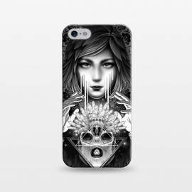 iPhone 5/5E/5s  Winya 76 by Winya (mandala,sacred geometry,pattern,triangle,poly,hipster,sacred,vintage,chicano,neo traditional,tattoo style,retro,abstract,skull,scarlet,women,lady,tear,cry,sad,geometry,tattoo,dark,fantasy,beautiful,punk,baroque,gothic,surreal,black and white,heart,hands,diamond,witch,sick,death,spirit,horror,culture)