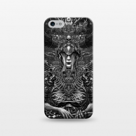 iPhone 5/5E/5s  Winya 81 by Winya (surreal,graves,dark,fantasy,mystical,reaperess,gothic,skull,magical,creatures,beautiful,spiritual,tattoo,women,punk,baroque,black and white,witch,death,spirit,horror,culture,myth,hipster,sacred geometry,awsome,soul,hell,immortal,satan,evil,devil,spooky,skeleton,bone,cruel,art line,line work,creepy,f)