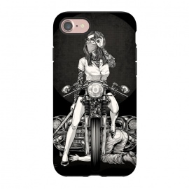 iPhone 8/7  Winya 82 by Winya (women,sex,pinup,blood,manga,comics,samurai,tattoo,kill,avengers,cafe racer,motorcycles,japan,biker,art line,nice,never give up,redemption,revenge,beautiful,fantastic,epic,terrific,great,awesome,amazing,car,old car,vintage car,retro car,classic chevy,classic car,chevy 1957,chevrolet bel air,chevrolet)