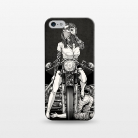 iPhone 5/5E/5s  Winya 82 by Winya (women,sex,pinup,blood,manga,comics,samurai,tattoo,kill,avengers,cafe racer,motorcycles,japan,biker,art line,nice,never give up,redemption,revenge,beautiful,fantastic,epic,terrific,great,awesome,amazing,car,old car,vintage car,retro car,classic chevy,classic car,chevy 1957,chevrolet bel air,chevrolet)
