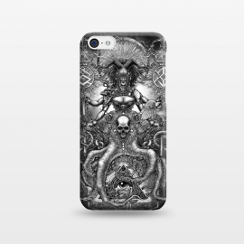 iPhone 5C  Winya 85 by Winya (women,horror,bones,skull,black and white,spooky,tattoo,surreal,witch,halloween,magic,reaper,occult,skeleton,cruel,amazon,eyes,culture,girl,sexy,pinup,art line,line work,death metal,death,blind,baroque,victoria,streem punk,gothic,pop culture,triangle of light,triangle,third eyes,snake,cobra,owl,grave)