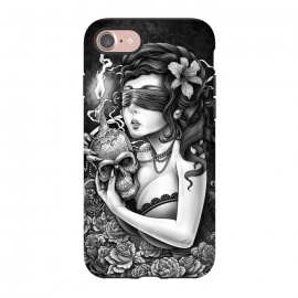 iPhone 8/7  Winya 86 by Winya (chicano,neo traditional,tattoo style,horror,women,skull,skeleton,bone,cruel,amazon,halloween,eyes,tattoo,culture,blood,girl,sexy,pinup,savage,kill,avengers,art line,nice,beautiful,fantastic,epic,great,awesome,amazing,wonderfull,line work,biker,rocker,teen,day of the dead,hell,sugar skull,death metal)