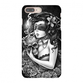 iPhone 8/7 plus  Winya 86 by Winya (chicano,neo traditional,tattoo style,horror,women,skull,skeleton,bone,cruel,amazon,halloween,eyes,tattoo,culture,blood,girl,sexy,pinup,savage,kill,avengers,art line,nice,beautiful,fantastic,epic,great,awesome,amazing,wonderfull,line work,biker,rocker,teen,day of the dead,hell,sugar skull,death metal)